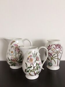Portmeirion Vase and Pitchers