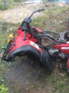 96 300 4x2 smashed parts for sale or trade for pellet guns