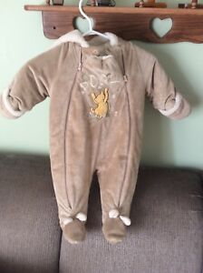Disney baby snowsuit