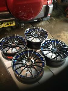 "HONDA OR OTHER 18"" inch ALLOY WHEELS Guildford Parramatta Area Preview"