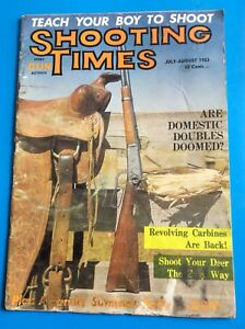 Shooting Times Magazine, July-August 1963