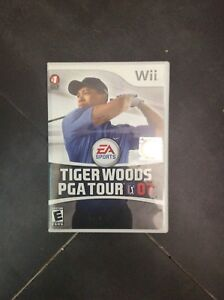 Wii game tiger woods euc