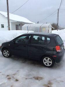 Chevrolet aveo 5 2005