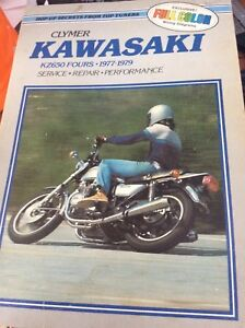 1977-1979 Kawasaki KZ650 Performance Service Manual