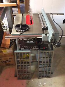 "Delta 10""  H/D Table Saw"