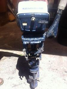evinrude fisherman outboard motor 6hp short shaft changes gears m Mount Druitt Blacktown Area Preview