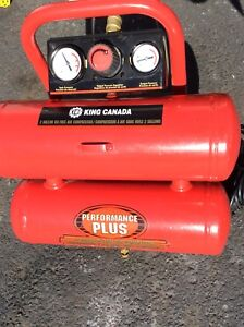 King air compressor 2 gallon (for parts)