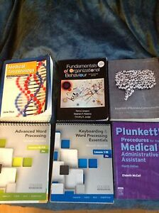 Medical Office Administration textbooks for sale