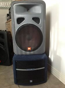 Selling JBL speakers, turntables, mixer, preamp,subwhoofer