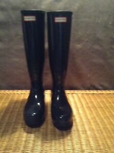 Hunter boots, barely used.