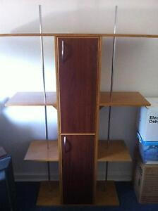 3 Tier Bookcase with cupboards Embleton Bayswater Area Preview