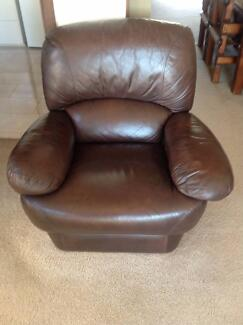 Free Leather Couch and Lounge Seats (x 2) East Albury Albury Area Preview