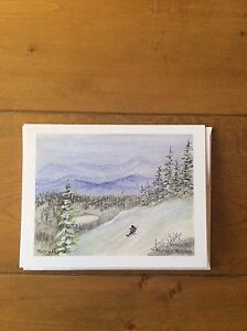 Silver Star Mountain Blank Cards