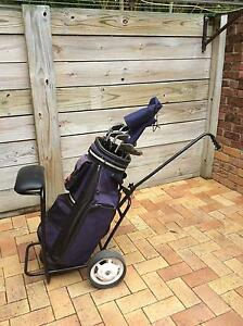 Golf Clubs and Cart. Korora Coffs Harbour City Preview