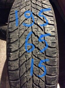 195/65R15 GOODYEAR  91T winter tire   450-639-1839 text pls