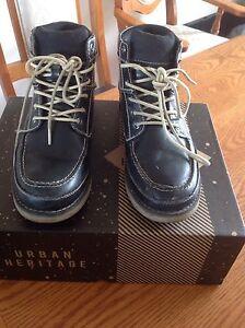 Boys Black Boots size 8