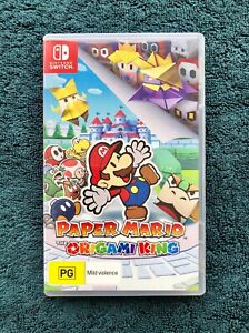 Nintendo Switch. Paper Mario Origami King. AS NEW Condition $39
