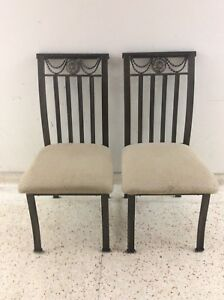 Two beautiful metal chairs, great condition, very comfortable