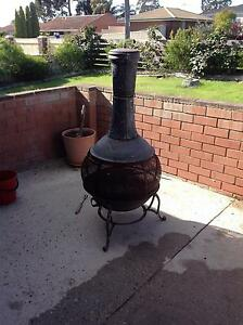 Cast iron chimenea fire pit Girrawheen Wanneroo Area Preview