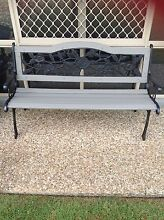 Wrought Iron Garden Bench Seat Thornlands Redland Area Preview