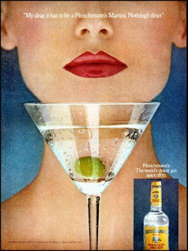 1979 woman red lips Fleischmann