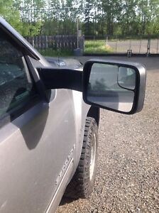 Towing mirrors 2009 GMC