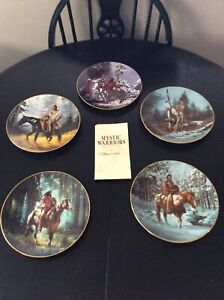 Mystic Warriors Decorative Plate Set