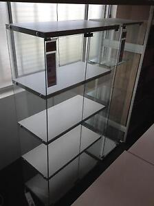Gallery Display Cabinet 4 Shelf White Bolwarra Maitland Area Preview