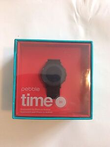⌚️⌚️PEBBLE TIME 20 SMART WATCH BRAND NEW SEALED IN BOX