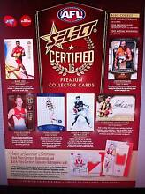 AFL 2016 Select Certified footy cards Willetton Canning Area Preview