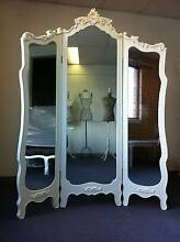 FRENCH PROVINCIAL ROOM DIVIDER TRI-FOLD DRESSING MIRROR BOUTIQUE Chipping Norton Liverpool Area Preview