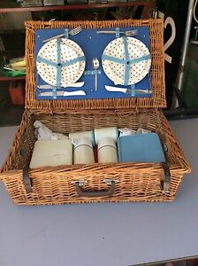 Anti-picnic basket with all the contents