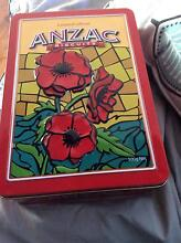 Limited Edition Anzac Buscuit Tin -Poppies - pick up Belrose Belrose Warringah Area Preview