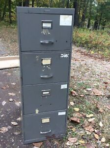 """Filing Cabinet 4 drawer 18"""" wide, 28"""" deep x 51"""" high"""