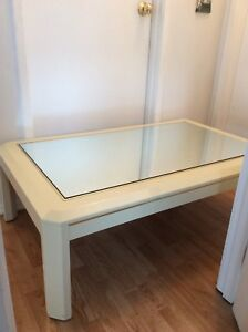 Cream coffee table just $55