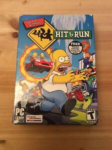 The Simpsons hIt and run video game for PC