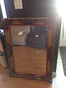 Very large mirror needs tlc