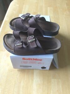 Size 2 SoftMoc Sandals $15