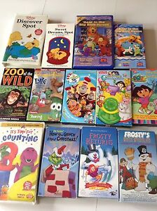 Children's VHS movies