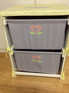 American Girl Bitty Baby Change Table and Storage Unit