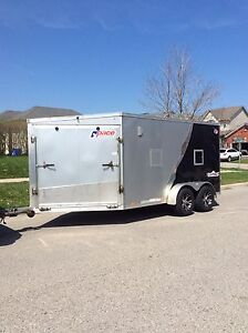 2014 Pace 7 x 14 Aluminum V-Nose Toy or Work trailer
