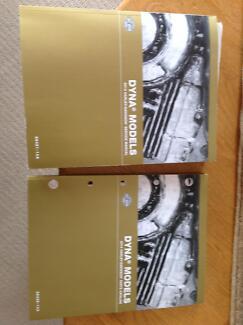 Harley Davidson dyna maintenance manual and parts catalogue Bacchus Marsh Moorabool Area Preview