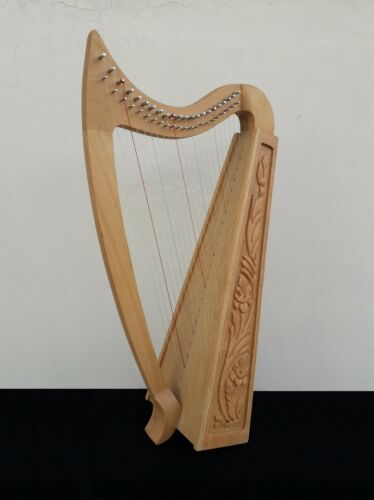 Geoffrey | Vogga 22 Strings Ashwood Irish Harp H7 | Bag, Key & Spare strings