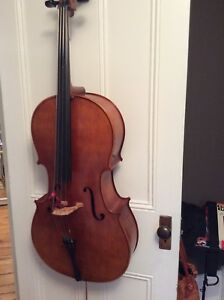 Full size CELLO, bow, soft case