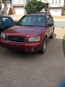 2004 Subaru Forester No MVI AS IS