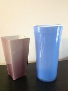 Glass Vases x 2 Eastwood Ryde Area Preview