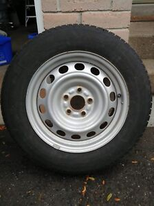 Winter Tires 215/60R16 x4 (Free Hubcaps)