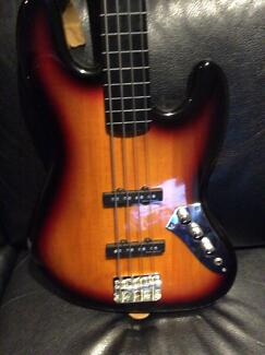 Jazz bass guitar Drysdale Outer Geelong Preview