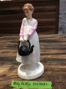 Royal Doulton figurine. Polly Put The Kettle On Mint condition