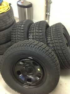 4 Brand new 265/70r 17 arctic claw xsi on brand new rims